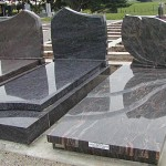 AM1035-kerbing-single-sculptered-headstone-ledgers