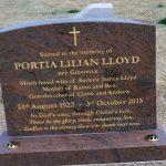 granite headstone 18